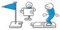 Weg vorbereiten, Positionierung am Markt, interlink marketing