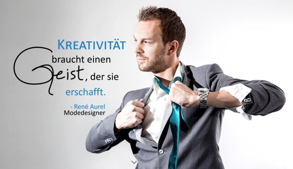 René Aurel, Modedesigner, Corporate Wear, individuell designte Berufskleidung