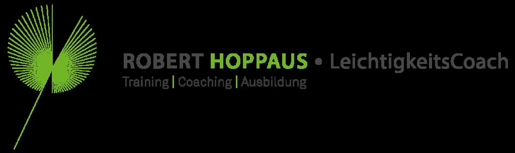 Logo Robert Hoppaus, Institut für Leichtigkeit, Graz