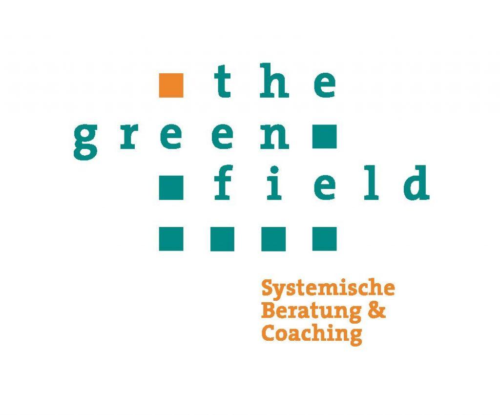 Logo the greenfield, Systemische Beratung und Coaching, Lehrgänge, Christine Amon-Feldmann, Christian Mang