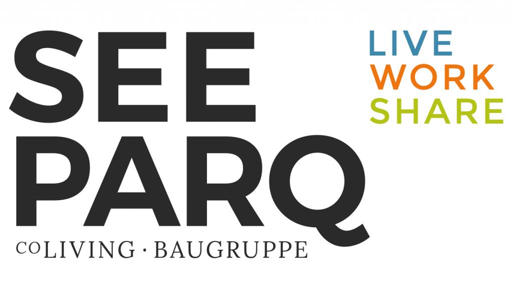 Logo Seeparq, Baugruppe Seeparkquartier, Eigentumswohnungen Seestadt Aspern, Wien
