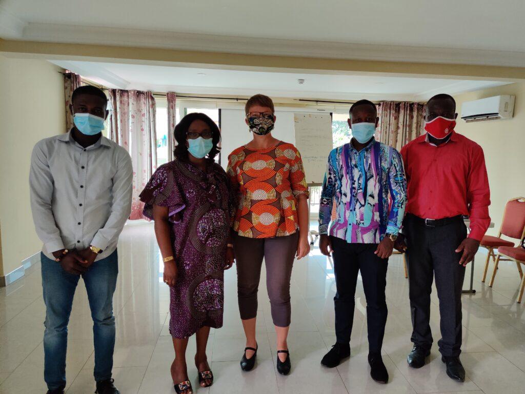 Business-Treffen in Kumasi, Ghana